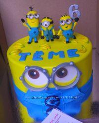 Торт Миньоны cake Minions