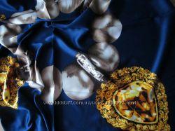 Платок шелковый  Moschino
