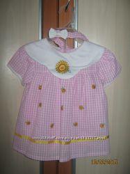 Платье с шортиками и повязкой