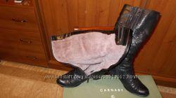 Кожаные зимние сапоги CARNABY