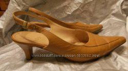 Туфли HOGL карамельного цвета