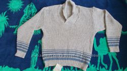 Тёплый новый мужской свитер, 52-54 р.