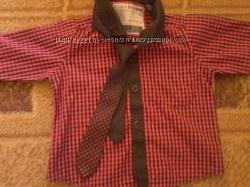 Продам рубашку c галстуком на мальчика