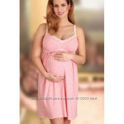 Нежные польские ночнушки беременным и кормящим. Размеры до 4 XL в наличии