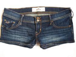 Шорты джинсовые 27 рр Hollister Холлистер