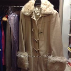 Продам шикарное пальто Benetton 46-48