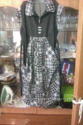 Комплект для беременных платье брюки кофта. Бандаж в подарок