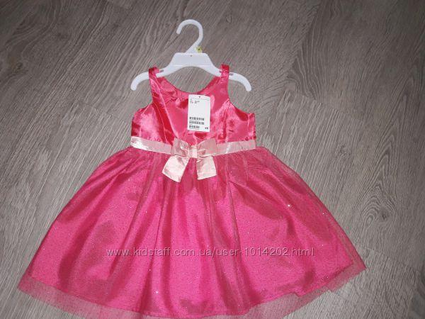 Новое нарядное платье H&M р. 92 1. 5-2 года
