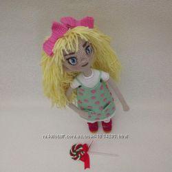 Кукла амигуруми. Девочка Карамелька.