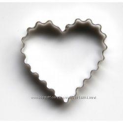 формы для пряников, печенья сердце