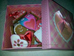 пряники расписные валентинки, наборы