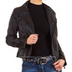 Байкерская джинсовая куртка косуха Vivo Modo Италия, размер S 36