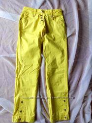 Супер весенние лимонные джинсы DKNY,