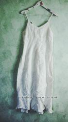Белый сарафан, лён