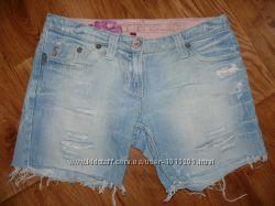 Крутые джинсовые шорты, размер М