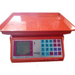 Электронные весы розовые
