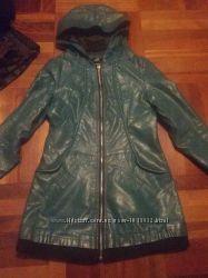 кожзам пальто куртка