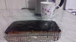 Нежнейший шоколадный торт Спартак с заварным сметанным кремом