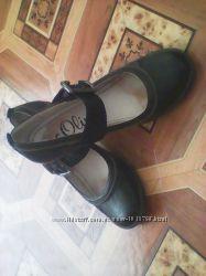 Классные, кожанные туфли