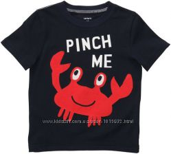 Реглан, футболка для мальчика Carters 3-6 мес
