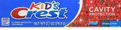Зубная паста Crest cavity protection детская