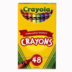 Восковые карандаши 48 цветов