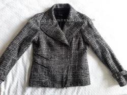 Косуха пальто Zara трансформер полупальто жакет пиджак М р. 46  40