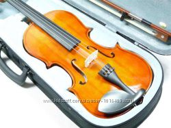 Скрипка Craftman 44  футляр из ABS пластика  аксессуары  Европа.