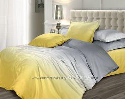 Сатин Коллекция Омбре - постельное белье с градиентом. Эсклюзив