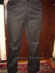 Котоновые стрейч брюки -Подарок