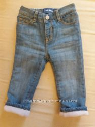 джинсы утепленные Old Navy от 12мес