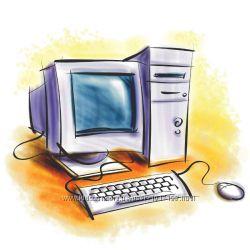 Ремонт и обслуживание компьютеров ноутбуков нетбуков