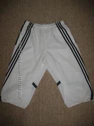Мужские белые бриджи штаны 34 Adidas Climalite