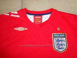 Футболка клубная футбольная Umbro England XL умбро сборная Англии