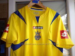 Футболка клубная футбольная Lotto Ukraine сборная Украины Лотто