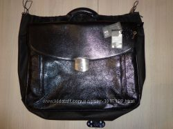 Новый кожаный портфель VIF сумка дорожная для ноутбука ВИФ