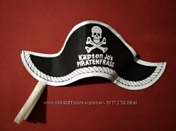 Шляпа пирата треуголка