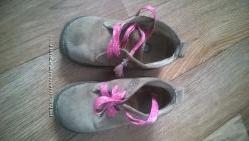 Ботинки демисезонные на девочку замшевые