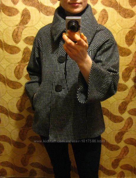 женское полупальто пальто Zara Woman  S-Eur  наш 40-42рр