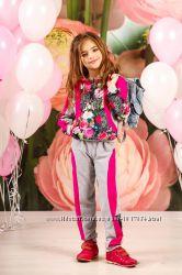 Спортивный костюм для девочки школьный р. 116-134 см