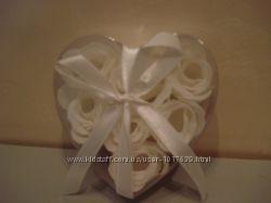 Цветы растворимые для купания Чудо-ванна Розы в сердце.