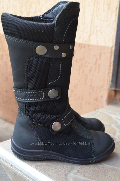 Наши любимые кожаные сапожки Ессо, 25 размер