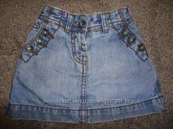 Юбка джинсовая 2-3 года