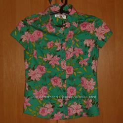 Красивая яркая рубашка Bonprix