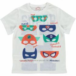 Супергеройская футболка на мальчика 12 лет 150 см Франция Dpam