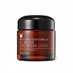 Мизон Mizon All in One Snail Repair Cream улиточный крем