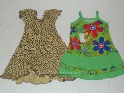 Летнее платье сарафан на 1-1, 5 года. Р. 74-80-86.
