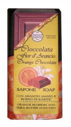 Мыло Шоколад и масло Ши - Оранжевый шоколад Nesti Dante, 200г