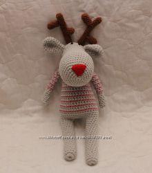 Рождественский олененок Санты Рудольф
