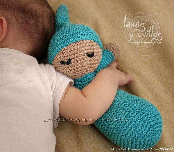 Кукла-сплюшка для малышей до 18 лет